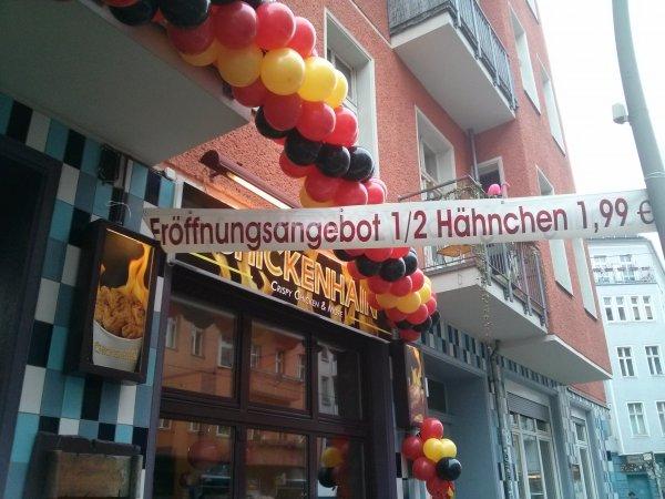 [Lokal - Friedrichshain] Eröffnungsangebot: Halbes Hähnchen für 1,99€