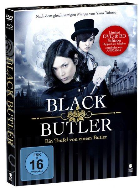 Black Butler - Ein Teufel von einem Butler (Special Edition im Digipak mit Schuber u. Goldprägung + 16 seitiges Booklet) [DVD + Blu-ray] für 11,97 € > [amazon.de] > Blitzangebot (1000.Deal)