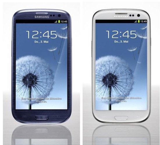Samsung galaxy S3 i9300 gebraucht @ebay (clevertronic) blau und weiß 139€ Ativ S 145€