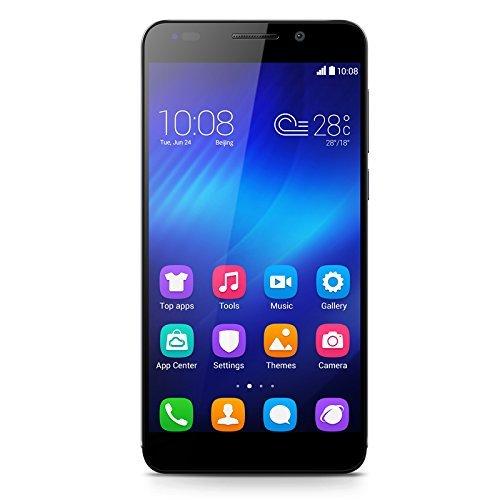 Honor 6 (5 Zoll, Octa-Core, 3GB RAM, 16GB ROM, 13MP Hauptkamera, 5MP Frontkamera, LTE CAT6, Android 4.4) Schwarz für 270€ mit Amazon Kreditkarte