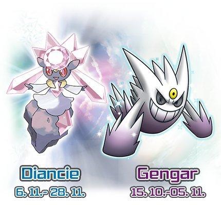 GameStop: Zwei Gratis Pokemon für Pokemon X & Y (3DS/2DS) in allen Filialen