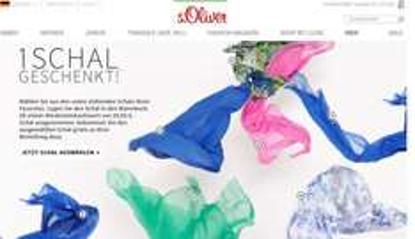 S.Oliver Schal gratis bei MBW 59€