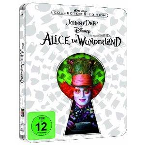 Alice im Wunderland Blu-Ray Steelbook@ Amazon.de