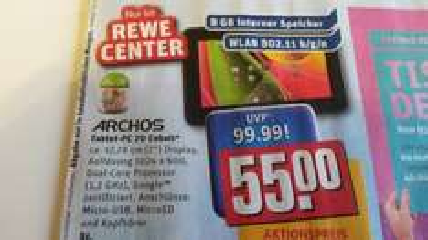 Archos 70 Cobalt 17,8 cm (7 Zoll) Tablet-PC Rewe-Center Köln und Umgebung