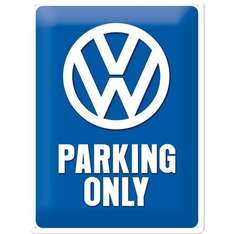 [Amazon] VW Parking only Blechschild