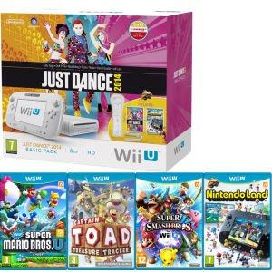 Nintendo Wii U Basic + 5 Spiele für 295€ @Zavvi