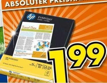 [Offline Euronics-XXL] 500 Blatt HP Druckerpapier 1,99€