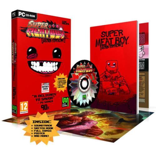 Super Meat Boy - Ultra Edition PC @ thehut.com für ~ 13,40 €