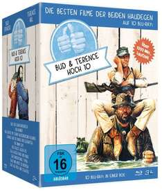 Bud Spencer & Terence Hill - Jubiläums-Collection-Box [Blu-ray] für 59,97 € > [amazon.de]
