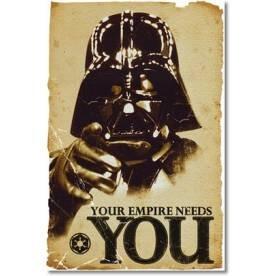 2 (!) Maxi Poster (61x91.5cm) für £8 + £1,98 Versand - 12,69€ / Simpson / Star Wars etc./ insg. 901 Poster [365games.co.uk]