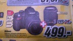 Nikon D3200 Kit 18-55 II + 55-200 II