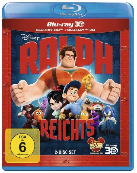 Ralph reichts 3D Bluray (+ Blu-ray 2D) mit amazon prime