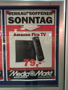 [Lokal Hamburg] Media Markt Amazon FireTV am 02.11. für 79€