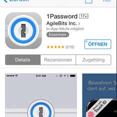 1Password iOS Version kostenlos