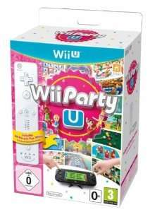 Wii Party U + Remote-Controller (Nintendo Wii U) in weiß