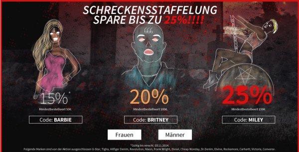 15%-25% bei MBW von 50-150€ für Streetwear auf kolibrishop