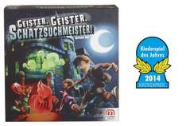 [Real.de] Geister, Geister, Schatzsuchmeister von Mattel (Kinderspiel des Jahres 2014) + 10fach Payback - nur heute