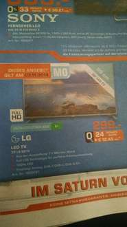 [Lokal] Saturn Göttingen: LED TV LG 39 LB 561V
