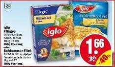 [NP Discount] ab 3.11 Iglo Filegro Crunch 'n' Fish & Iglo Filegro traditioneller  Backfisch für je 0,16€ in Kombination mit Scondoo