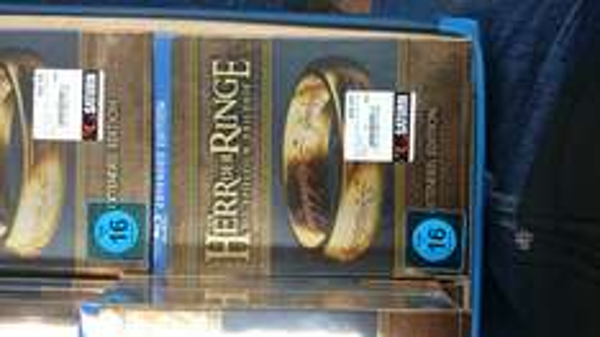 Herr der Ringe Trilogie Blueray (Extended Edition)  bei Saturn (lokal)