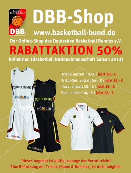 Basketballtrikot Deutschland 50% Rabatt