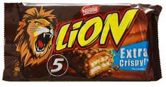 [THOMAS PHILIPS] Lion Extra Crispy 5-er Pack 5x42g für 0,99€