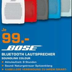 Bose soundlink Colour bei Saturn Sankt Augustin vom 3.-8.11.2014