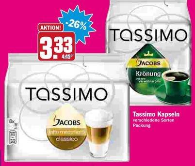 [offline/lokal][HIT] Tassimo - Verschiedene Sorten für 3,33Euro ab 6.11. bis 8.11.