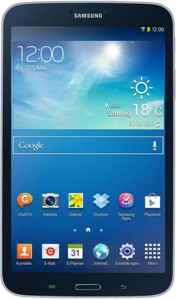 Samsung Galaxy Tab 3 8.0 SM-T310 16GB, schwarz oder weiß 99 CHF(82,11€)