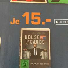 [Saturn Essen] House of Cards Staffel 1 Bluray