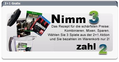 Gamesonly.at - Nimm 3 Zahl 2  PS4/ Xbox One/ Xbox 360/ PS3/ PC/ Wii U etc. Spiele