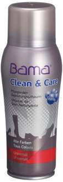 3x Bama Clean & Care Pflegeschaum für Schuhe