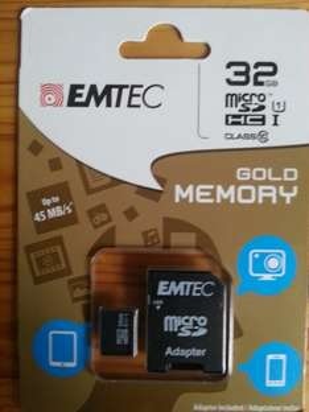 [KAUFLAND / BUNDESWEIT?] EMTEC Gold Memory 32GB Class 10 MicroSDHC inkl. Adapter für 11,99€