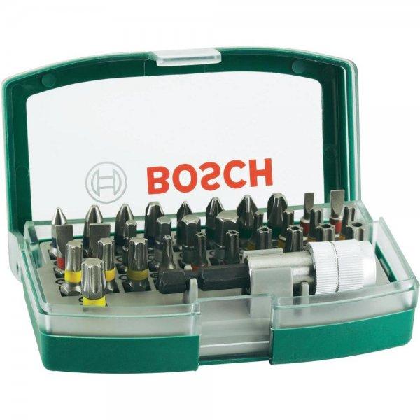 Bosch Schrauberbit-Set 32-tlg. mit Bithalter für 8€ @Conrad Filiale