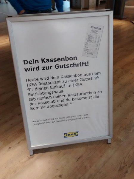 IKEA Berlin-Tempelhof: Kostenlos im Restaurant essen, wenn man danach einkauft