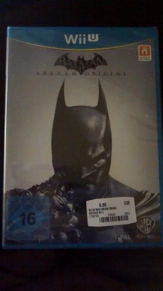 [Lokal Leipzig] Batman Arkham Origins für Wii U für 9,99€