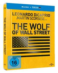 The Wolf of Wall Street - Steelbook [Blu-ray] @ amazon prime