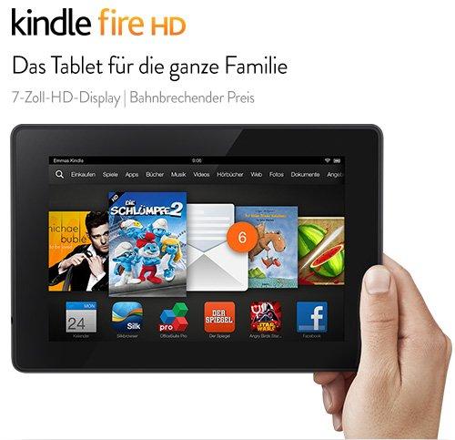 Kindle Fire-HD für 99€