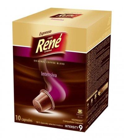 80 Nespresso® kompatibele Kaffekapseln - Espresso Intensiva ab 0,19/Kapsel