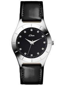 s.Oliver Damen-Armbanduhr SO-2474-LQ für 34,99€ bei Amazon