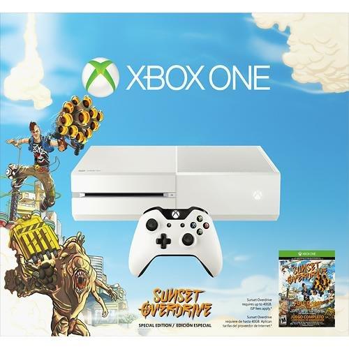[Schweiz] Microsoft Xbox One Konsole - Weiss - Sunset Overdrive CHF 395.60 Thalia