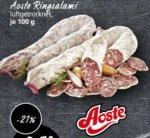 [REAL] Aoste Ringsalami für 0,79 € (Angebot+Coupon)