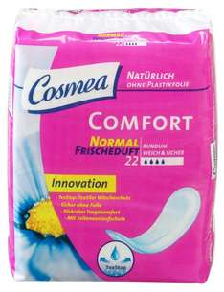 """[Amazon] Cosmea Comfort Binden,""""TexStop""""mit Frischeduft 264 Stück für nur 1,87€"""