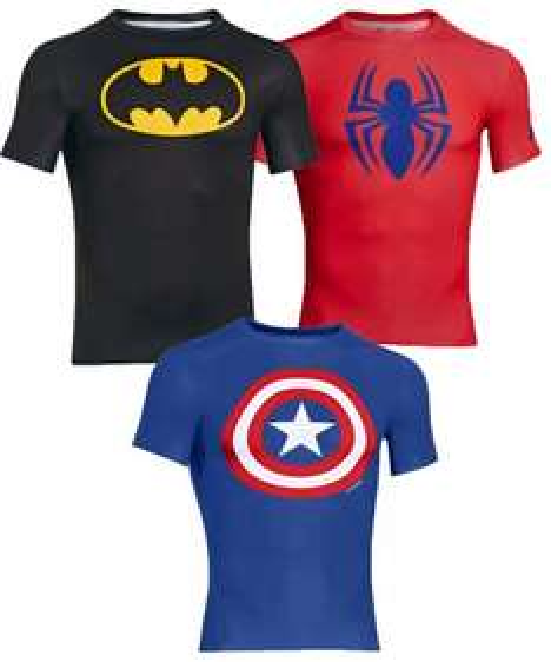 Geiles Super Hero Shirt von Under Armour für 35,9 und nochmal 7.- in Superpunkten geschenkt