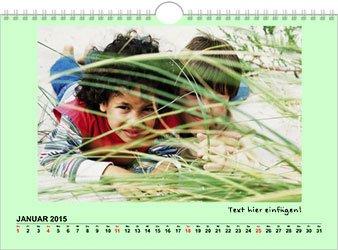 Fotokalender A4 Klassik gratis + 4,95€ Versand @snapfish