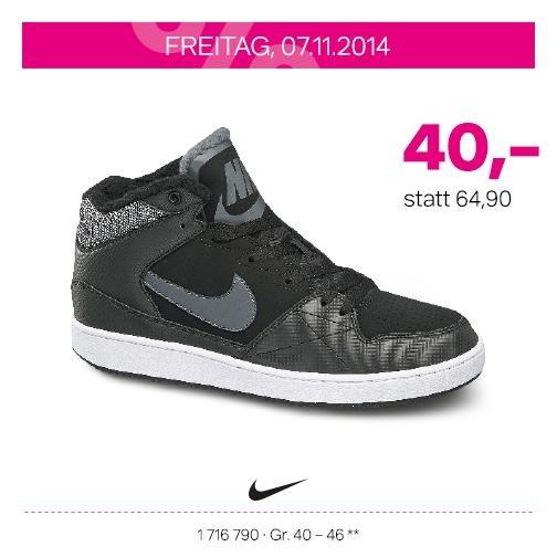 (Lokal Karlsruhe) Deichmann Neueröffnung 07.& 08.11.2014 z.B. Herren Nike Mid Cut Priority
