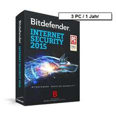 Bitdefender Internet Security 2015 - 3 PC - 1
