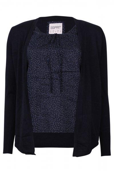 Esprit Damen Cardigan Pullover mit integrierter Damenbluse UVP: 59,95.-