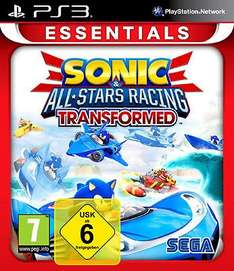 Sonic & SEGA All-Stars Racing Transformed PS3 XBOX 360 Neu & Deutsch für 14,90 inkl. Versand