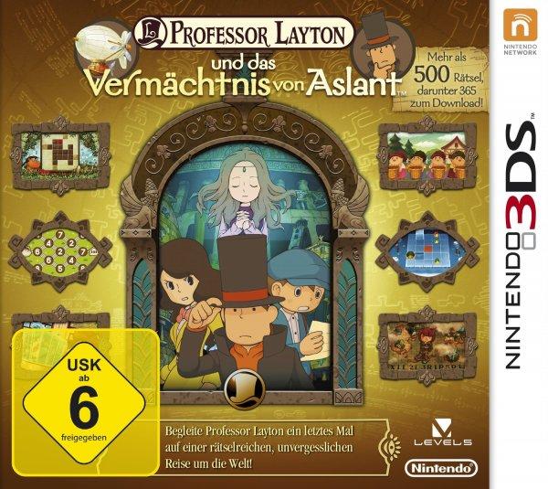 3DS Professor Layton (und das Vermächtnis von Aslant) & Mario Party Island Tour für 22,99 + 3,99 VSK